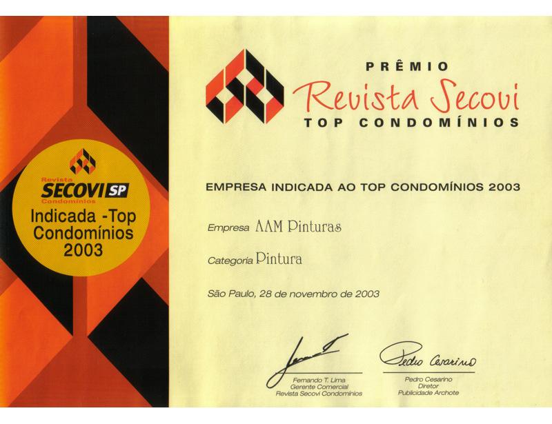AAM certificado Secovi