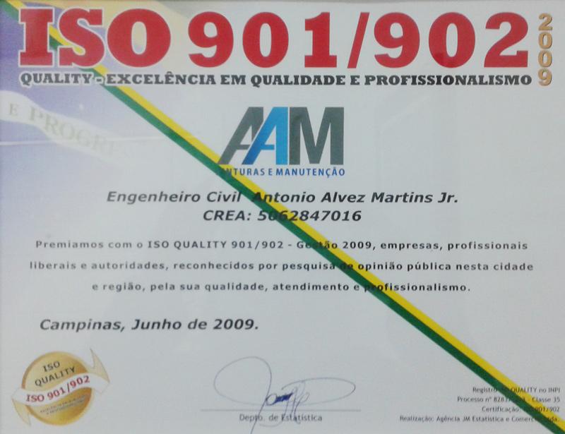 AAM certificado ISO